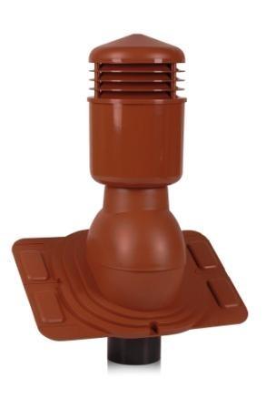 Вентиляционные выходы Universal утепленные для любого типа кровельных материалов 110 мм