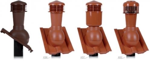 Вентиляционный проходной элемент для черепицы