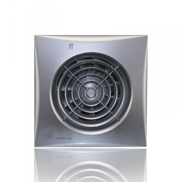 Вентилятор Silent 100 chz silver бесшумный