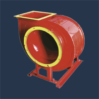 Вентилятор ВР 89-70 (ВЦ 4-75) ТУ У 29.2-24321588-001-20 02, 12,5, мощность 22 кВт, из углеродной стали