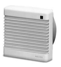 Вентиляторы HelioVent® HVR 150, HV 200 и HV 250 для скрытого монтажа в стены и оконные вентиляторы