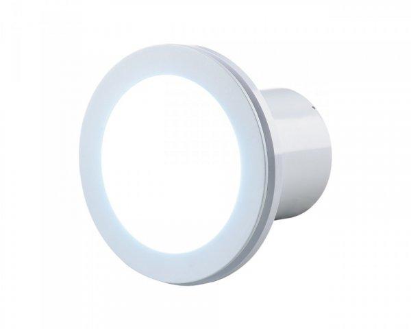Фото  1 Вентилятор Вентс Люмис 100 Турбо с ЛЭД подсветкой, усиленный 2231220