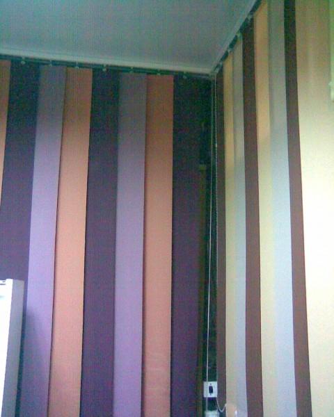 Вертикальні тканинні жалюзі ( 127 мм. ) - Відмінна альтернатива шторам , Європейський стандарт .