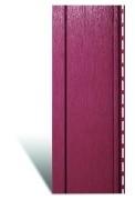 Вертикальный виниловый сайдинг «Quadrohouse» Красный