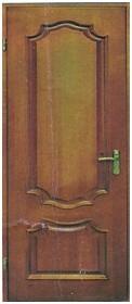 Вхідні дерев'яні двері Вхідні двері з масиву сосни та дуба в будинок, квартиру.