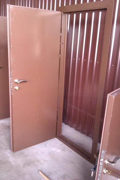 Вхідні двері покрас двусторонній