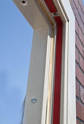 Входная металлическая огнестойкая дверь ЕІ30 (предел огнестойкости 30 мин.)