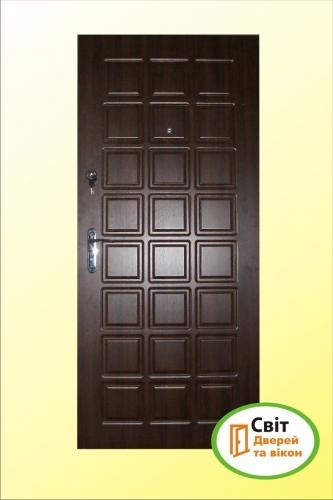 Входные, бронированные двери – под заказ с МДФ накладками