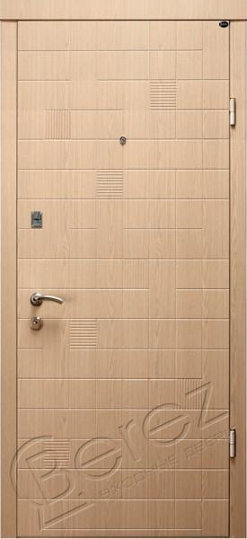 Входные двери Берез Каскад белый