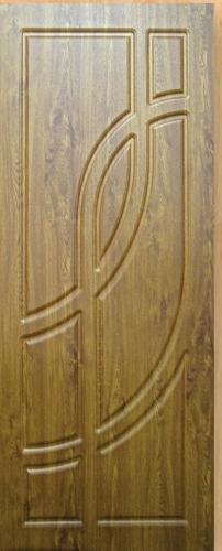 Входные двери Fortress Модель OPTIMA-CT 18, Размер 860х2050, навесы левые Цвет старое дерево, 2 замка глазок
