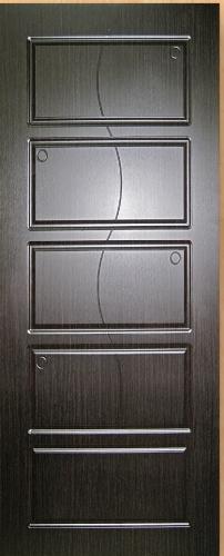 Входные двери Fortress Модель OPTIMA-CT 28, Размер 860х2050, навесы правые Цвет старое дерево, 2 замка глазок