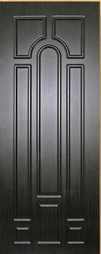 Входные двери Fortress Модель OPTIMA-CT 29, Размер 860х2050, навесы правые Цвет старое дерево, 2 замка глазок