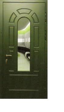Входные двери МДФ с зеркалом