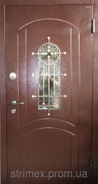 входная дверь с теплым стеклопакетом