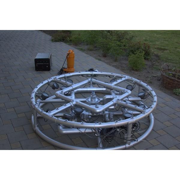 Вы легко можете собрать фонтан своими силами, установка займёт всего пару часов!А удовольствие будет приносить днями!