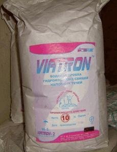 """Виатрон-2 """"Водяная пробка"""" - Тампонирующий состав.Быстрая остановка протечек в бетоне, кирпиче"""