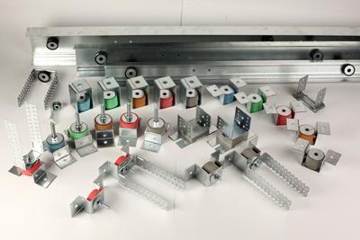 Vibrofix Box Крепления для виброизоляции подвесного инженерного оборудования, вентиляционных каналов, трубопроводов