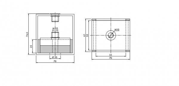 Фото 2 Виброподвес оборудования Vibrofix Box Pro 850 331536