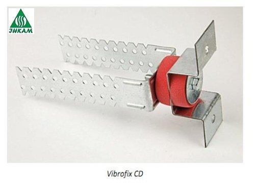 Фото 1 Кріплення для гіпсокартону до стіни Vibrofix CD 330163