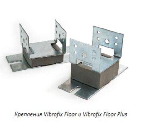 Фото  1 Звукоизолирующее крепление Vibrofix Floor для пола 1402675