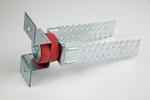 Vibrofix Liner Крепления для монтажа акустической развязки строительных конструкций. Звукоизоляция стен.