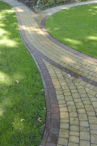 Вибролитая тротуарная плитка Ретро