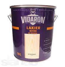 Vidaron Nitro Lak Видарон Лак Нитро для дерева 10л