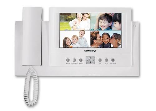 Видеодомофон Commax CDV-71BQ с цветным 7 дюймовым LCD дисплеем