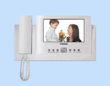 Видеодомофон Commax CDV-73BE с цветным 7 дюймовым LCD дисплеем