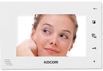 Видеодомофон Kocom KCV-A374 White