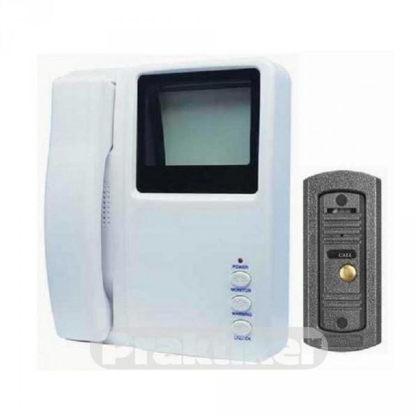 """Видеодомофонный комплект Vision 228 Q ч/б дисплей 4"""" / вызывная панель с ИК-подсветкой"""
