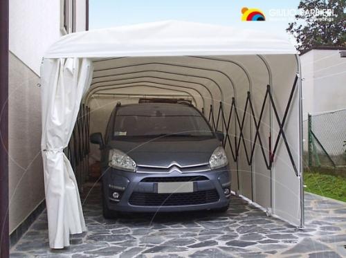 Выдвижные туннели широкого спектра применения от итальянского производителя модульных алюминиевых конструкций