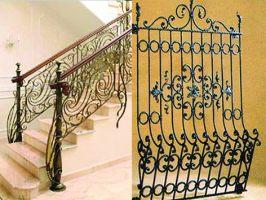 Виготовлення металовиробів - огорожі, решітки, перила, ворота, сходи.