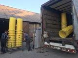 Фото  4 Елементи мусороспуска - прямий, рукав, приймальний рукав, приймальний поверховий рукав 4808826