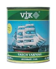 Vik®. Яхтный лак. Однокомпонентный лак на основе комбинации алкидноуретановой модифицированной алкидной смолы