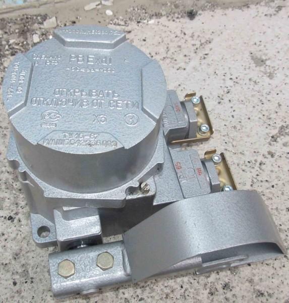 Выключатель путевой взрывозащищенный ВПВ-4М
