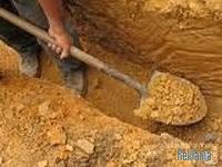 Выкопаем яму, траншею вручную