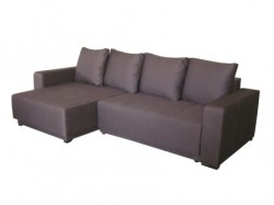 Виктор угловой диван ткань Бонус шоколад 10 Код A98165
