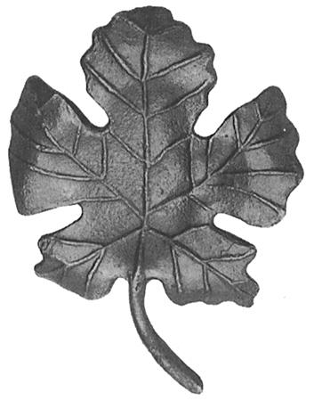 Виноградный лист 52.202 (155 х 110 [мм])