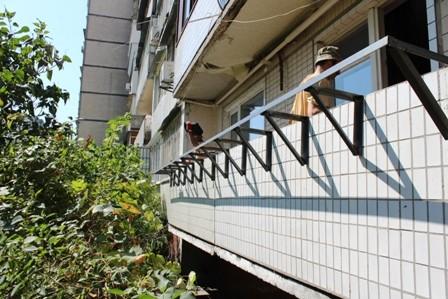 Вынос балкона Левый берег