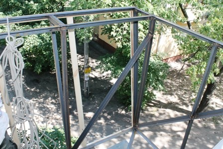 Вынос балкона на Дарнице