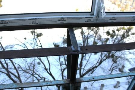Вынос балкона на Оболони