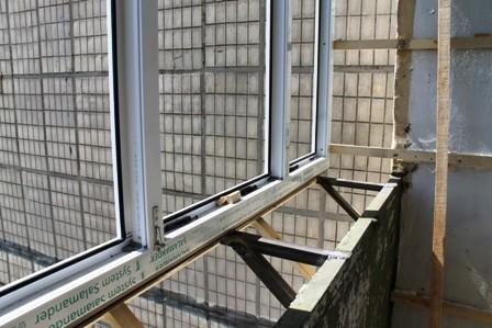Вынос балкона на Осокорках