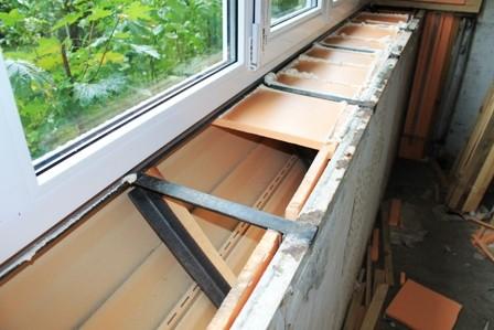 Вынос балкона на Радужном