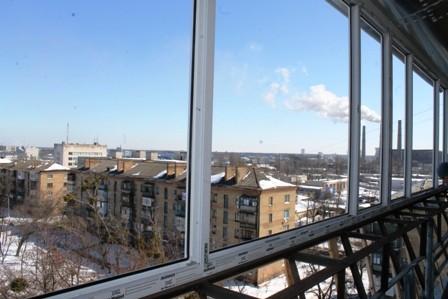 Вынос балкона на Троещине