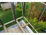 Вынос балкона по полу на Позняках