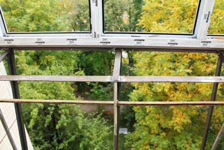 Вынос балкона в сталинке