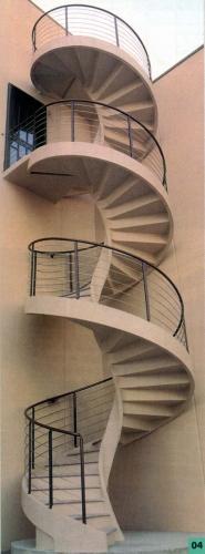 Винтовые лестницы любой сложности