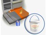 Выполнение Эластичной гидроизоляции (Hygrostop-Суперэластичный,  продукт 533)