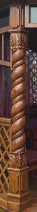 Выполняем профессионально. Резные деревянные опорные столбы любой сложности.